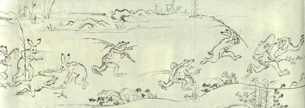 鳥獣戯画7